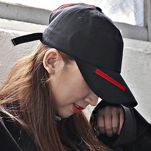 제로드컨듀잇 ZDC EDGE BALLCAP_red