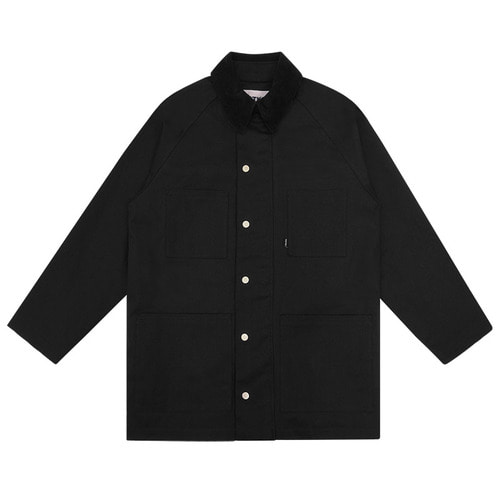 트라이투톡 T38S COTTON WORK JACKET_black