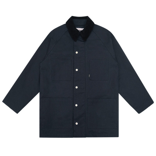 트라이투톡 T38S COTTON WORK JACKET_navy