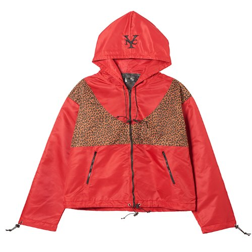 와이낫씨 Br Tiger Skin Wind Breaker(RED)
