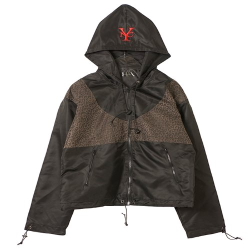 와이낫씨 Tiger Skin Wind Breaker(BLACK)