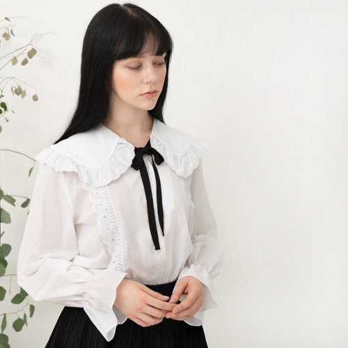 민타레트로 Bono Lace Blouse