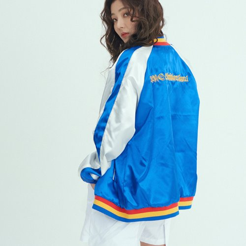 와이낫씨 YNC Okribtion Sukajan Jumper(BLUE)