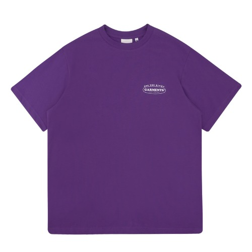 트라이투톡 T39S ROUND GARMENTS TEE(PURPLE)