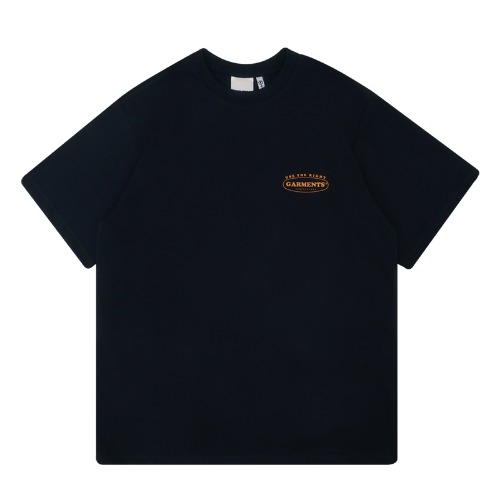 트라이투톡 T39S ROUND GARMENTS TEE(DARK NAVY)