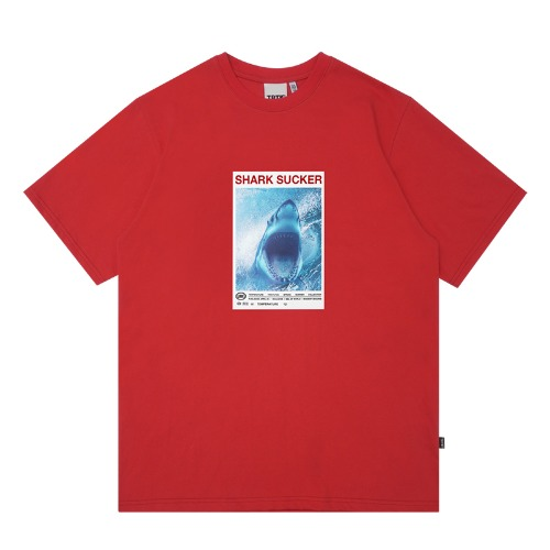 트라이투톡 T39S SHARK SUCKER TEE(RED)