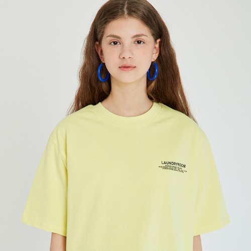 매치글로브 MG9S LAUNDRY TEE(LIGHT YELLOW)