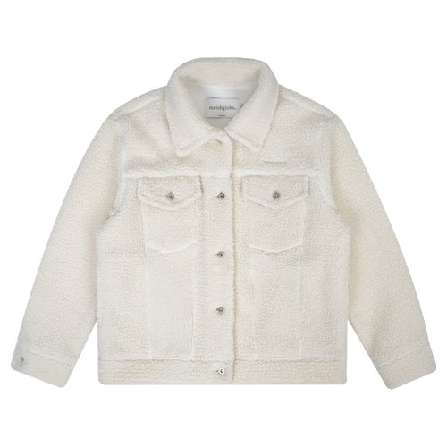 매치글로브 MG9F SHEARING TRUCKER JACKET(IVORY)