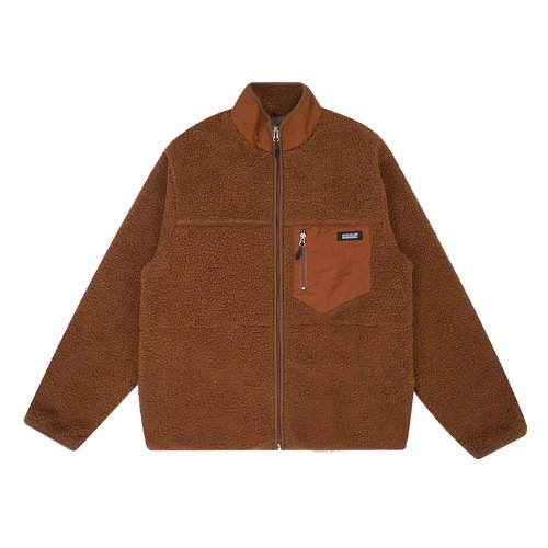 매치글로브 MG9F HIGH NECK DUMBLE ZIPUP(BROWN)
