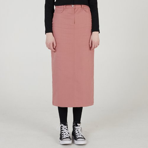 매치글로브 MG0S COTTON TWILL LONG SKIRT(PINK)