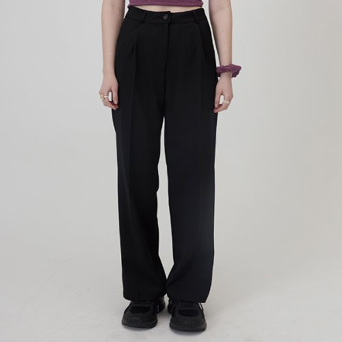 매치글로브 MG0S PINTUCK LONG SLACKS(BLACK)