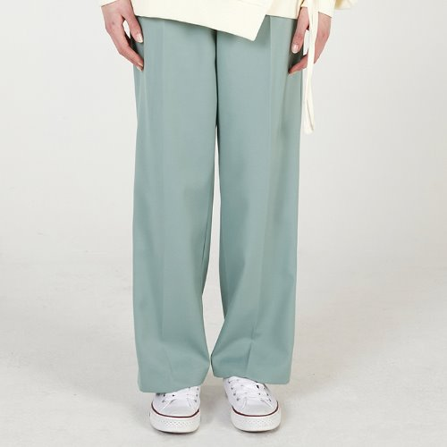 매치글로브 MG0S PINTUCK LONG SLACKS(GREEN)