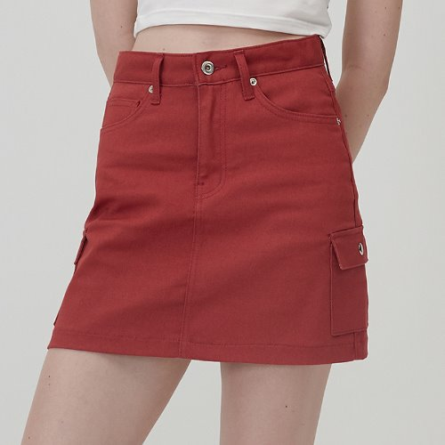 매치글로브 MG0S OUTPOCKET MINI SKIRT(RED)