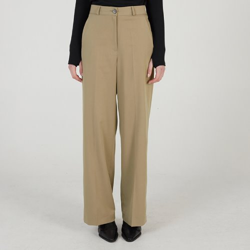 매치글로브 MG0S WIDE LONG SLACKS(BEIGE)