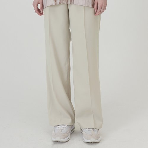 매치글로브 MG0S PINTUCK LONG SLACKS(IVORY)
