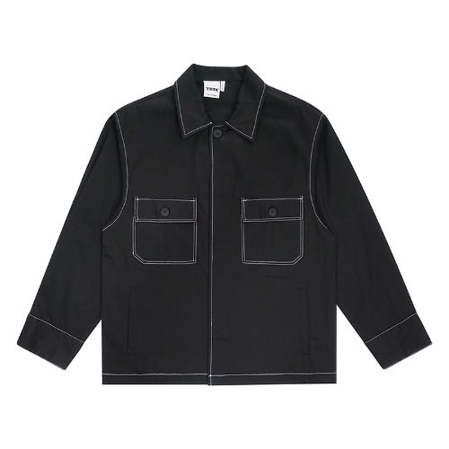 트라이투톡 T30S STITCH FIELD SHIRT(BLACK)
