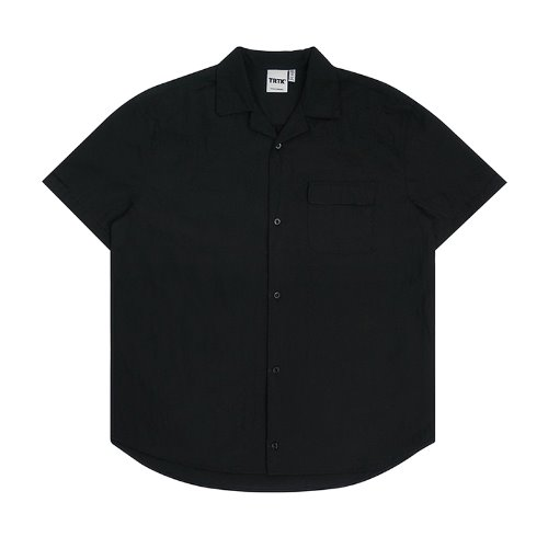 트라이투톡 T30S PIPING HALF SHIRT(BLACK)