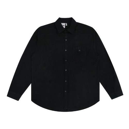 트라이투톡 T30S BUTTON POCKET SHIRT(BLACK)