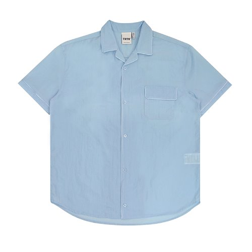 트라이투톡 T30S PIPING HALF SHIRT(SKY BLUE)