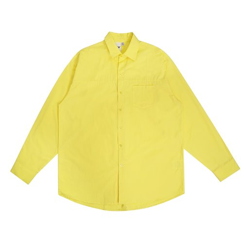 트라이투톡 T30S OVERFIT CUTTING SHIRT(YELLOW)